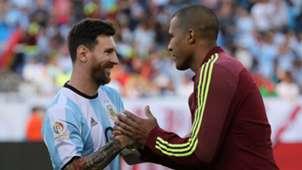 Lionel Messi & Salomon Rondon