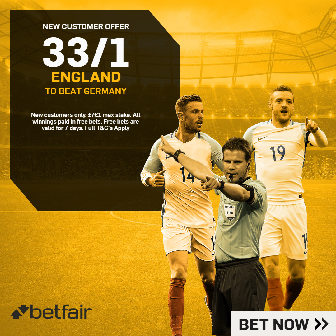BETFAIR ENHANCED ENHANCED V GERMANY