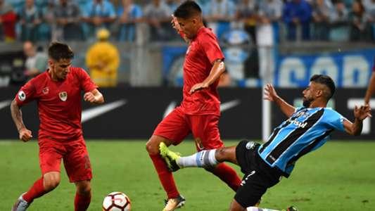 Maxi Meza Leo Mura Gremio Independiente Recopa Sudamericana 21022018