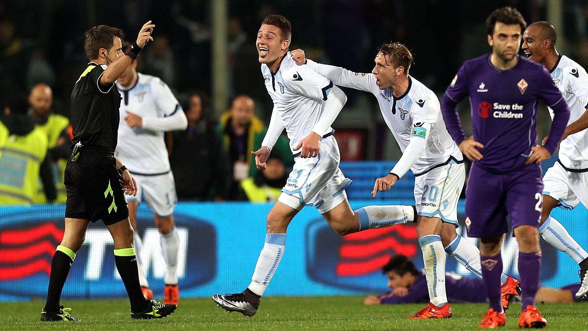 Sergej Milinkovic-Savic Lazio Fiorentina