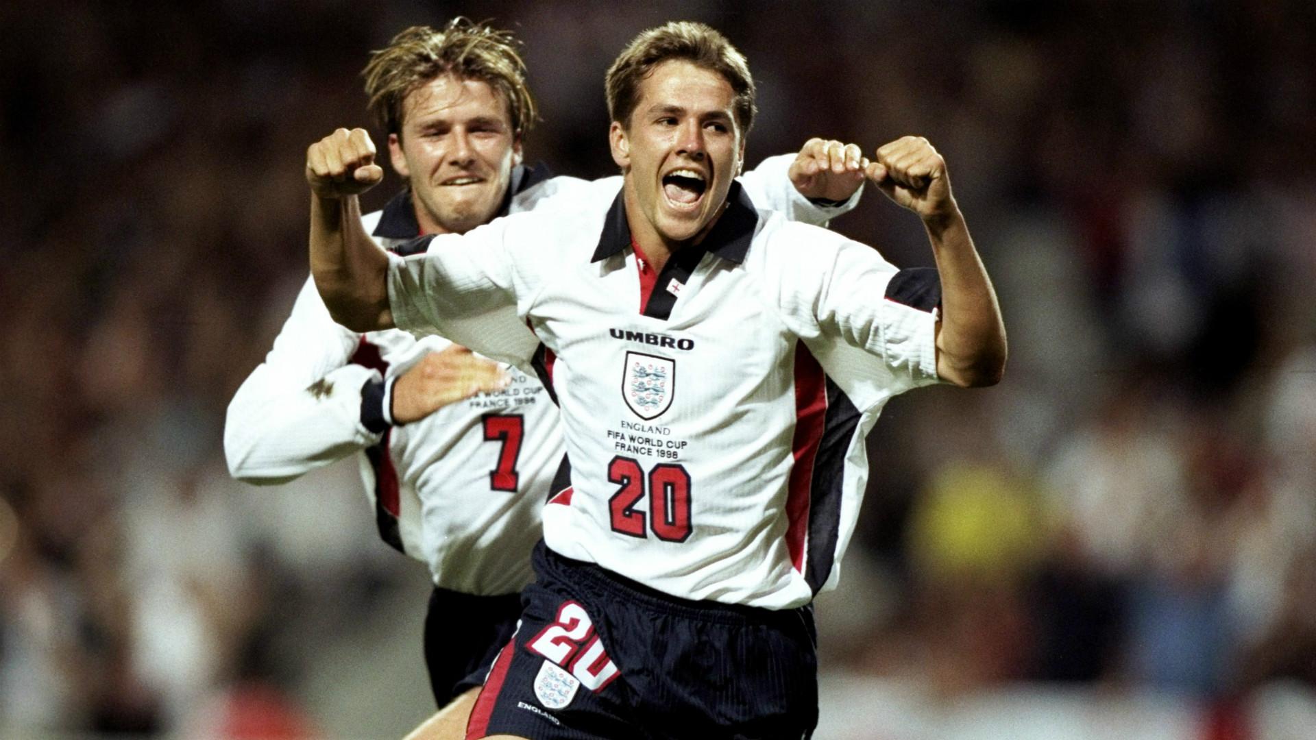 Michael Owen Copa del Mundo 1998