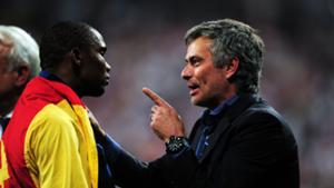 Jose Mourinho Samuel Eto'o Inter