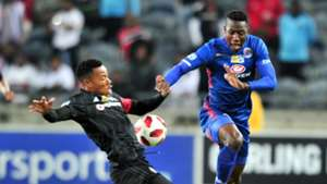 Happy Jele, Orlando Pirates, Evans Rusike, SuperSport United, August 2018