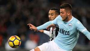 Lazio Rom Juventus Turin Milinkovic-Savic Benatia 03032018