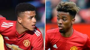 Mason Greenwood Angel Gomes