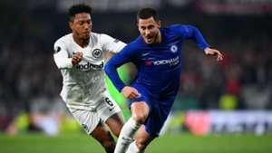 Eden Hazard Jonathan De Guzman Eintracht Frankfurt Chelsea Europa League 2019