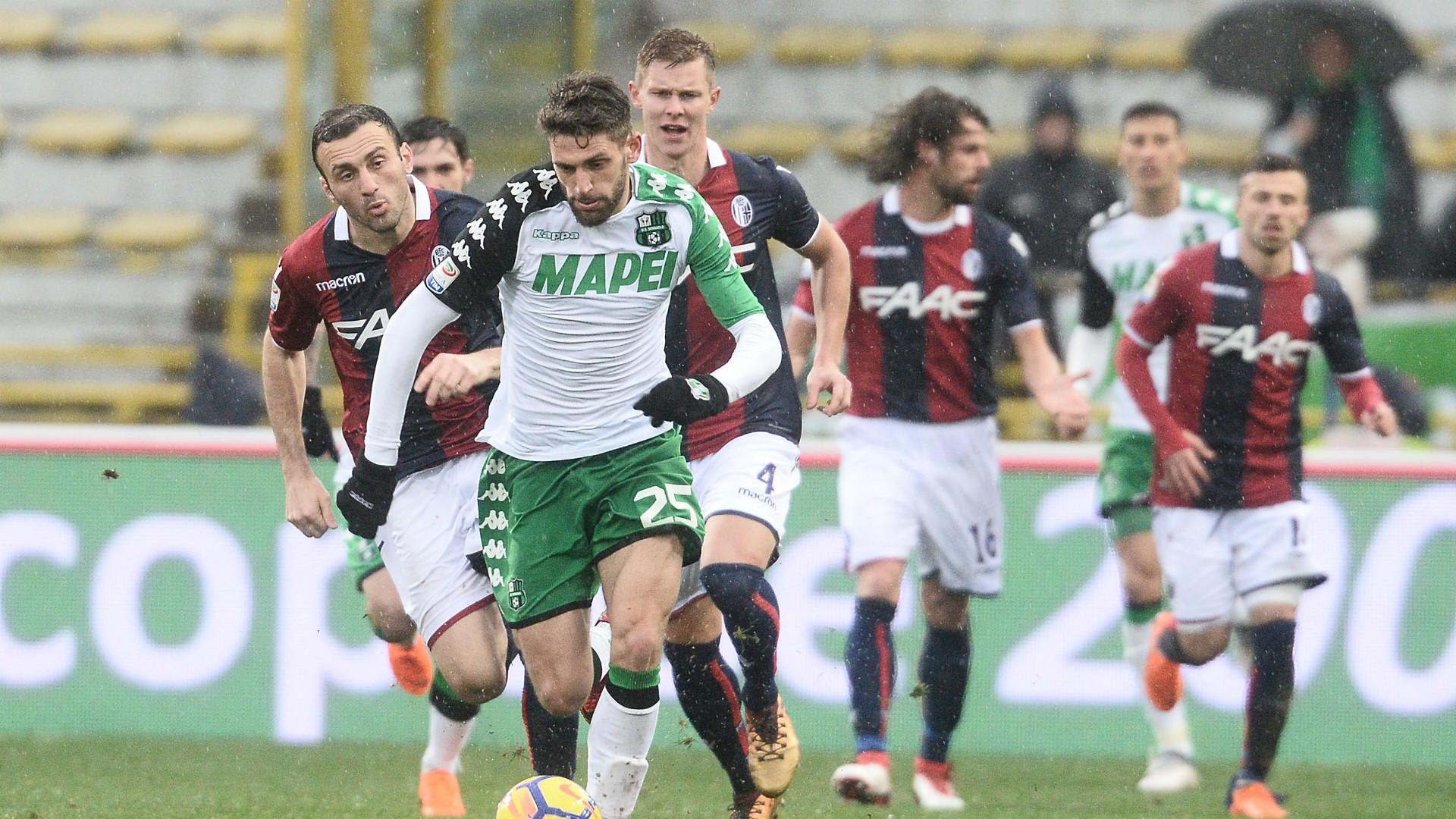 Berardi Bologna Sassuolo