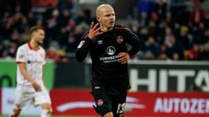 Tobi Werner Nürnberg Düsseldorf 2. Bundesliga 12112017