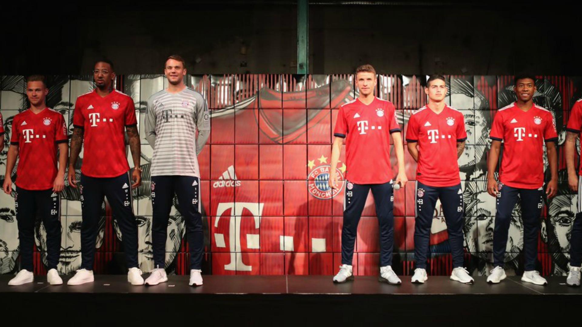 James Rodríguez celebró con el Bayern el título de la Bundesliga