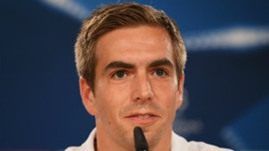 Philipp Lahm Bayern Munich press conference