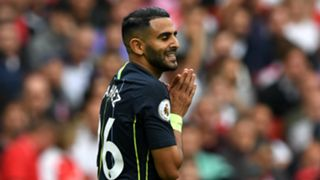 Riyad Mahrez, Arsenal FC v Manchester City - Premier League