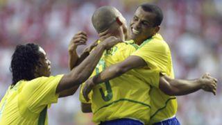 Ronaldo Ronaldinho Rivaldo Brazil