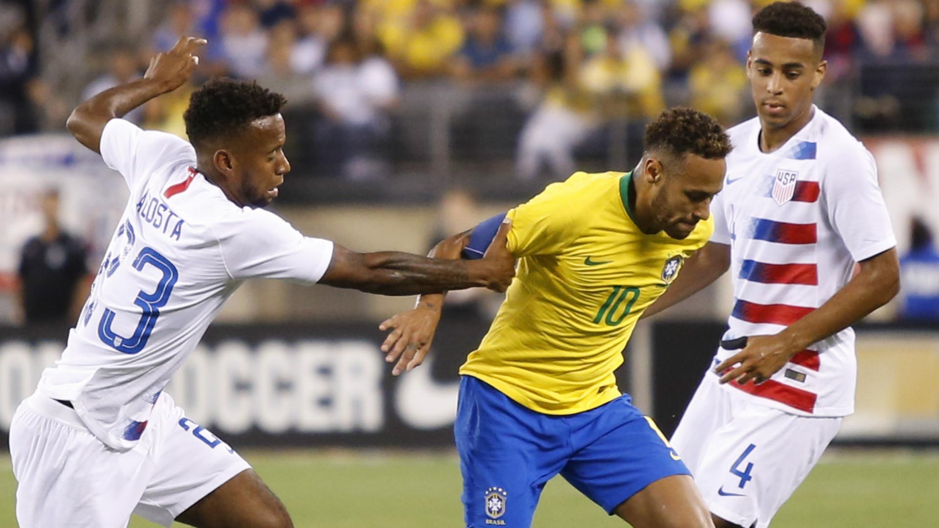 Neymar Kellyn Acosta Tyler Adams 09072018