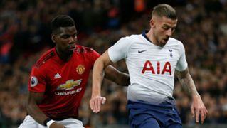 Toby Alderweireld Tottenham Paul Pogba Manchester United