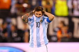 Lionel Messi lamenta derrota na Copa América de 2016