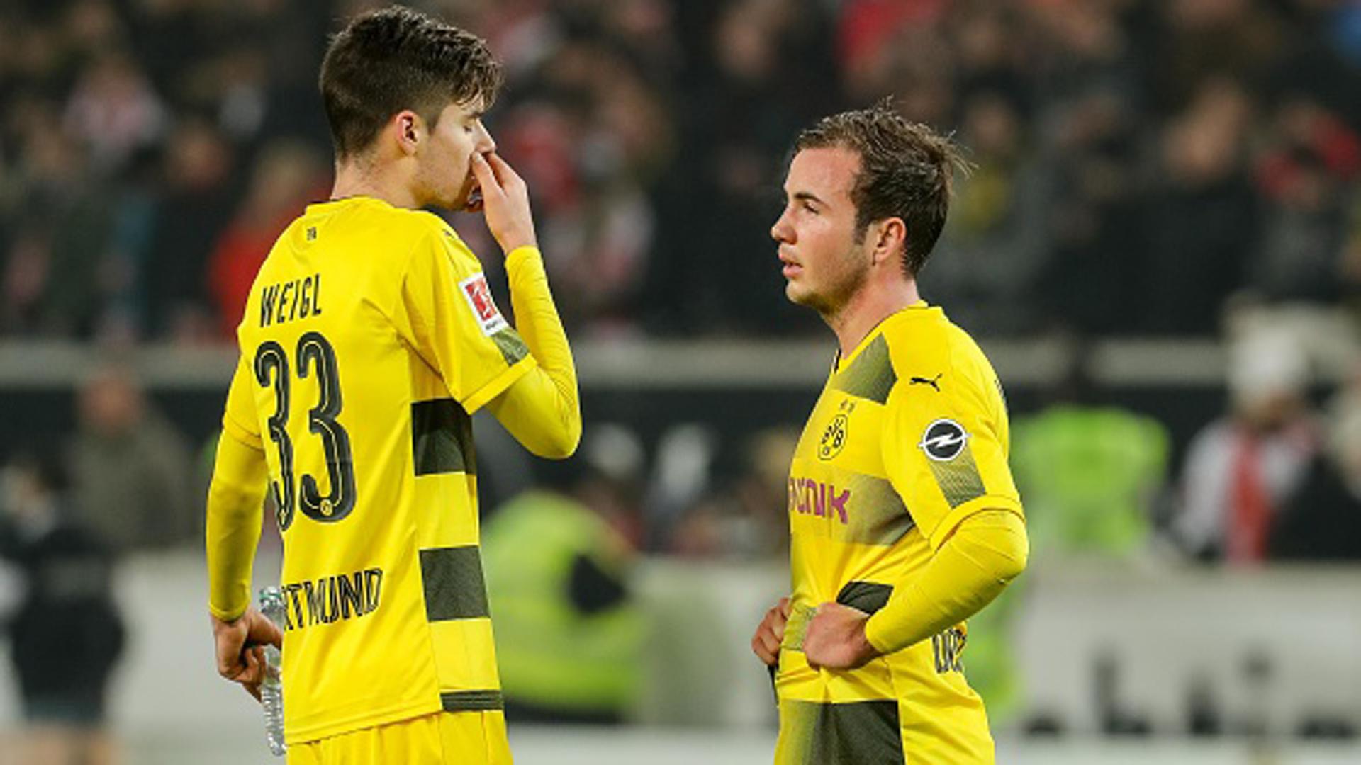 Borussia Dortmund Julian Weigl Mario Götze