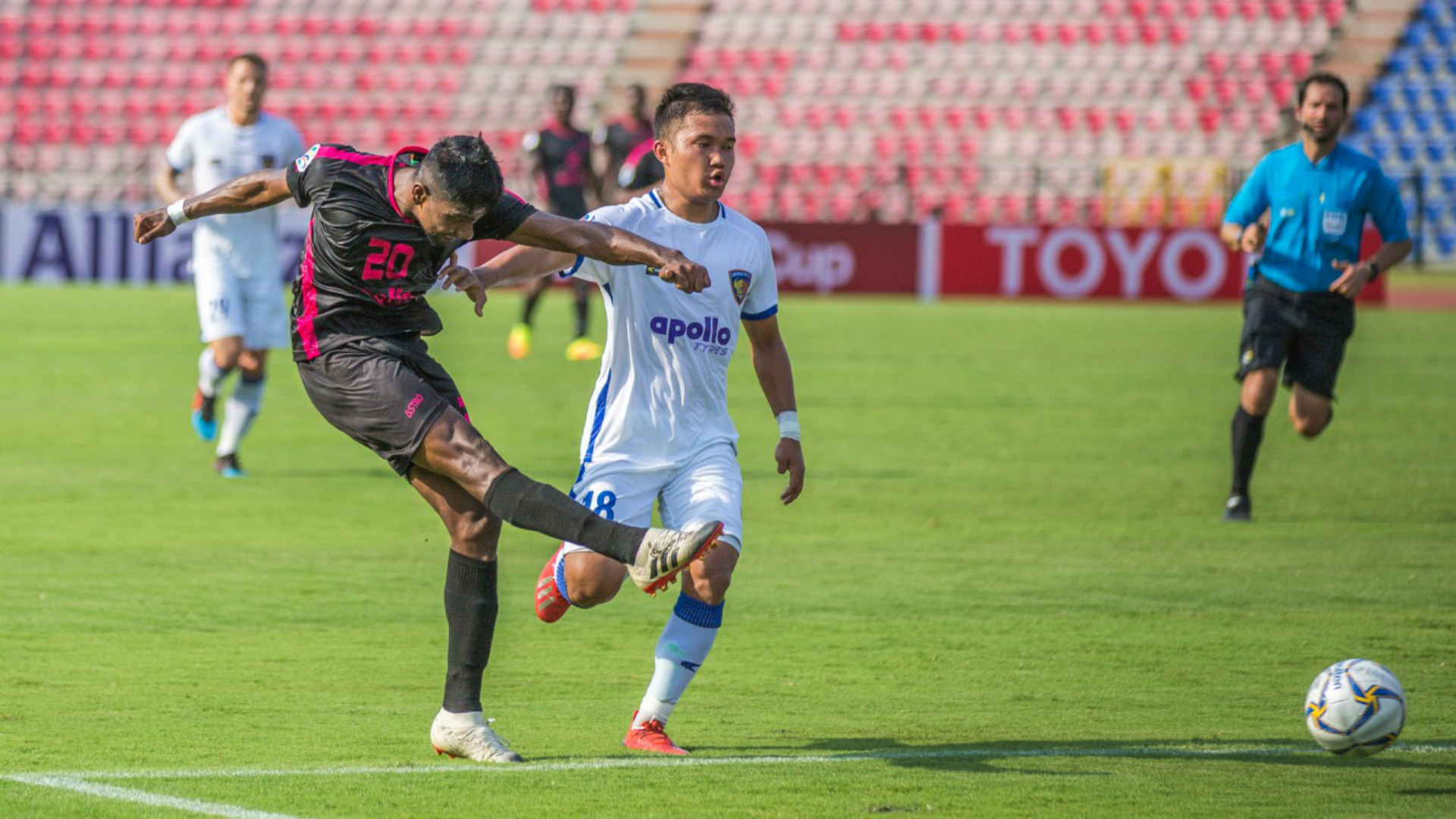 Minerva Punjab Chennaiyin FC AFC Cup 2019