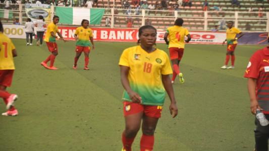 Diane Tchanko of Cameroon U17