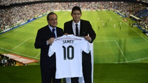 james rodriguez real madrid primera division 2014