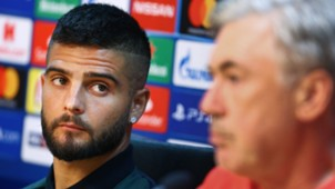 Lorenzo Insigne Napoli Liverpool press conference