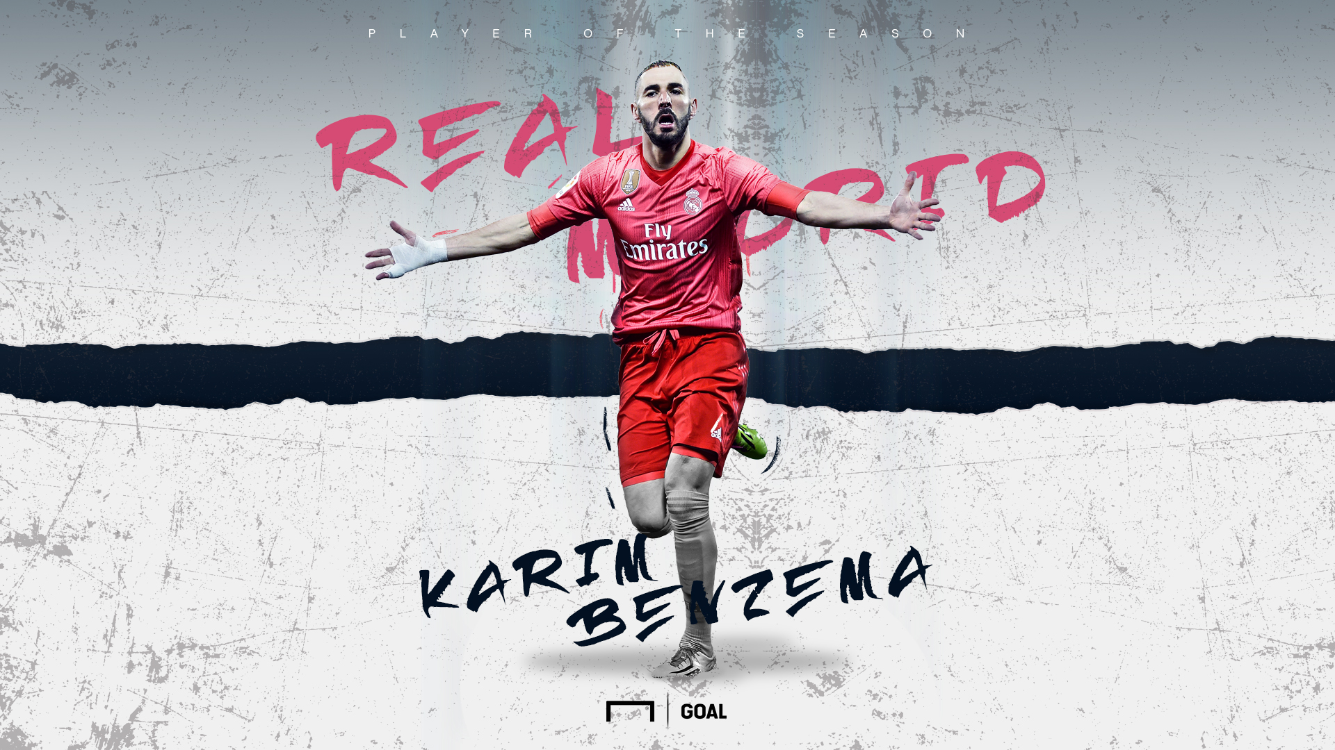 Karim Benzema, Real Madrid Player of the Season, 2018-19