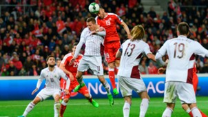 Josip Drmic Switzerland Latvia WC Qualifying Europe 03252017