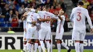Liechtenstein Spain WC Qualifiers
