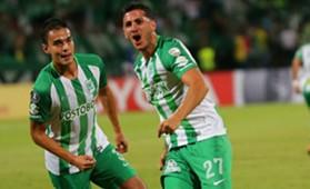 Gonzalo Castellani Atlético Nacional gol a Bolívar Copa Libertadores 2018