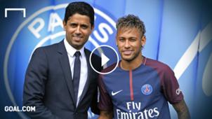 Al Khelaifi Neymar Playbutton