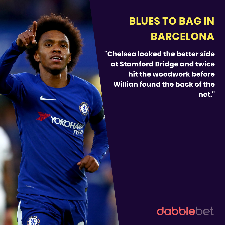 Barcelona Chelsea graphic