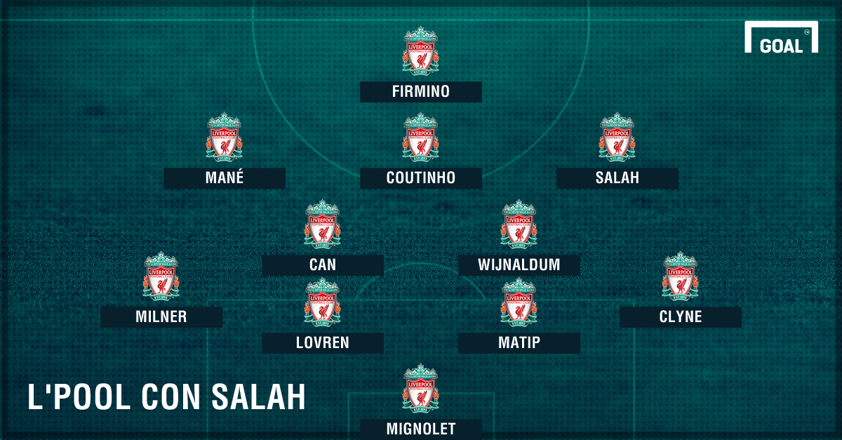 PS Liverpool con Salah