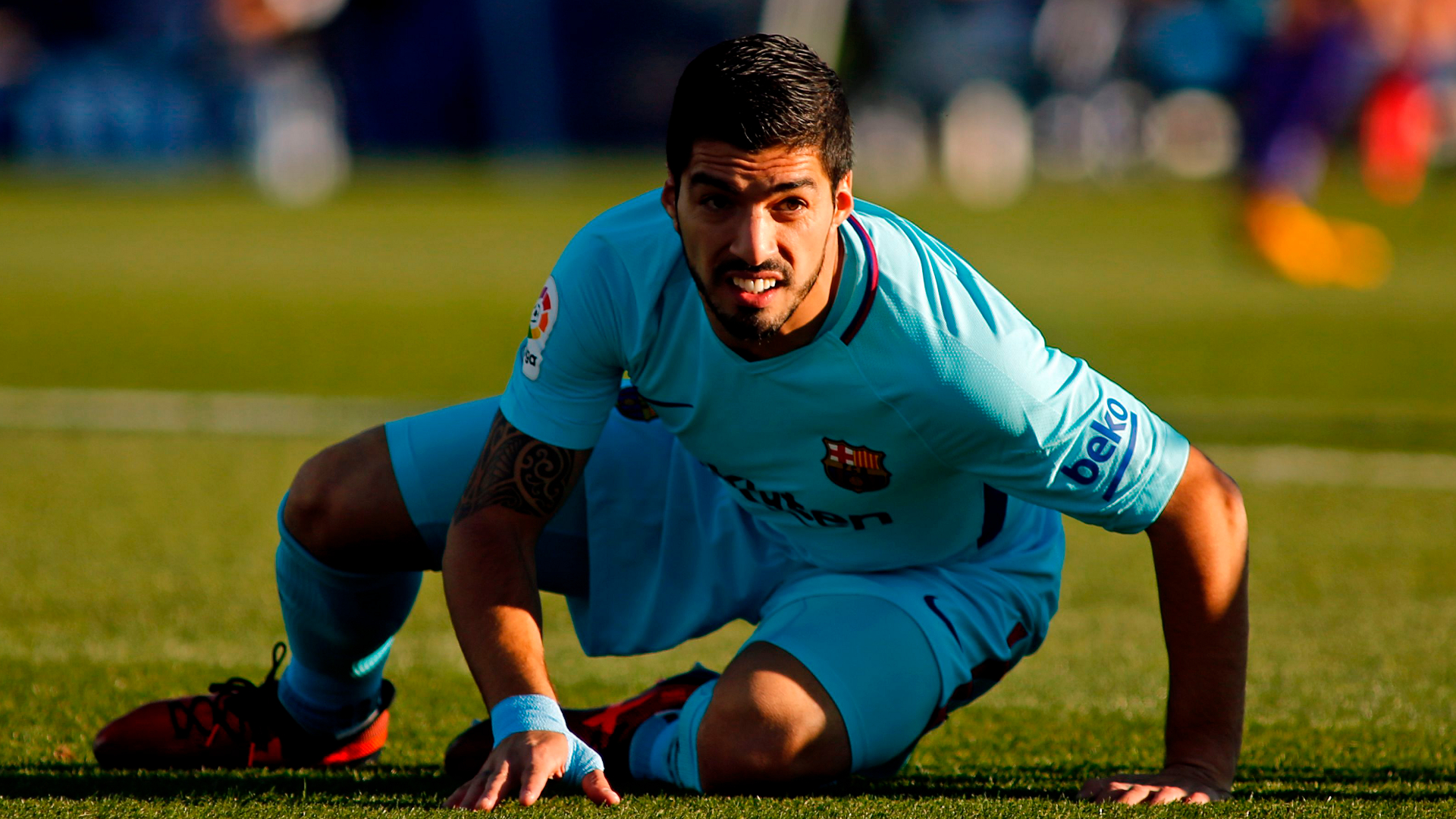 Barcelona: Luis Suarez ends goal drought as Barca beat Leganes 3-0