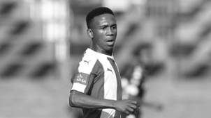 Mlondi Dlamini - Maritzburg United Black and White
