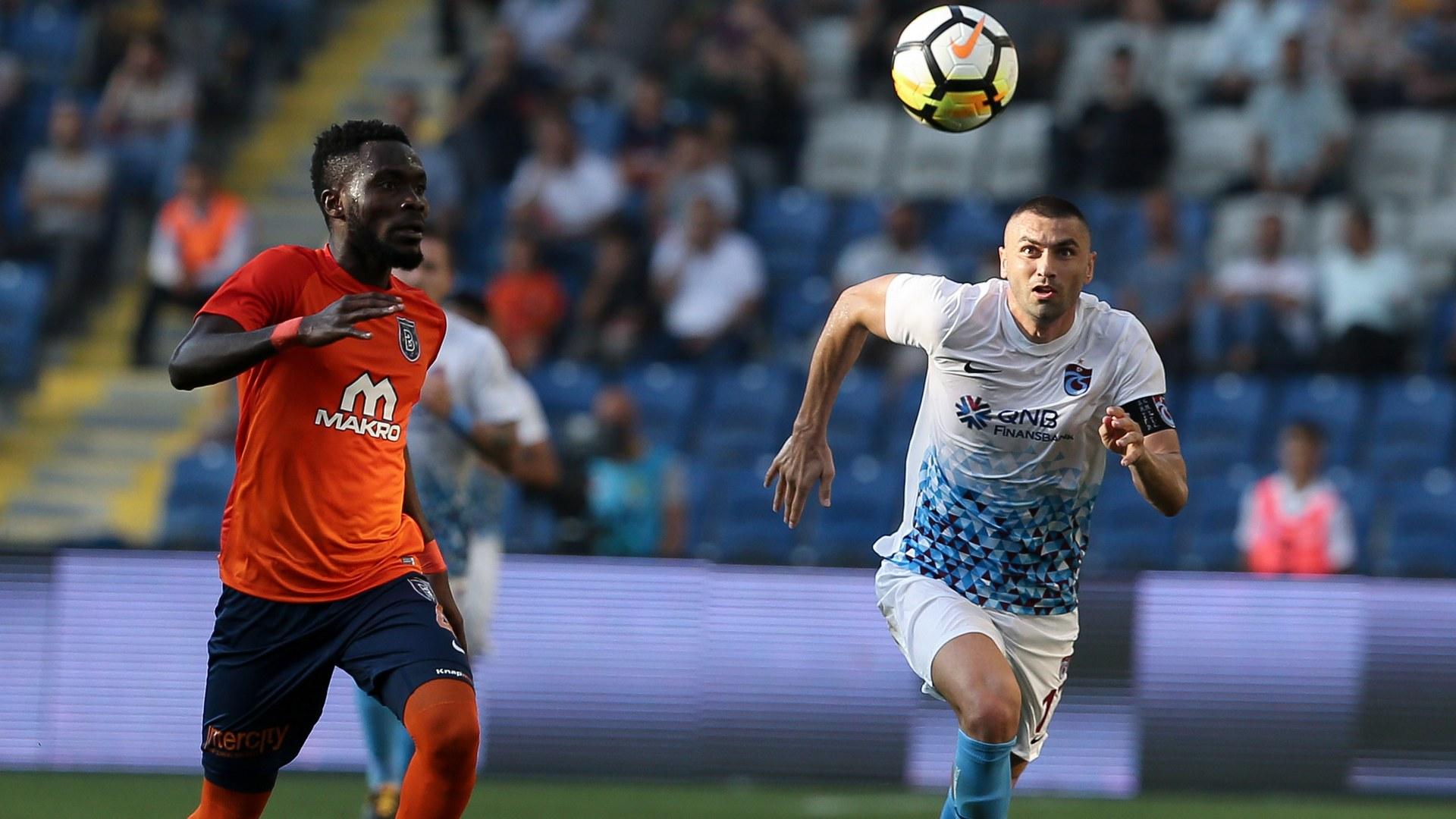 Joseph Attamah Burak Yilmaz Basaksehir Trabzonspor TSL 09172017