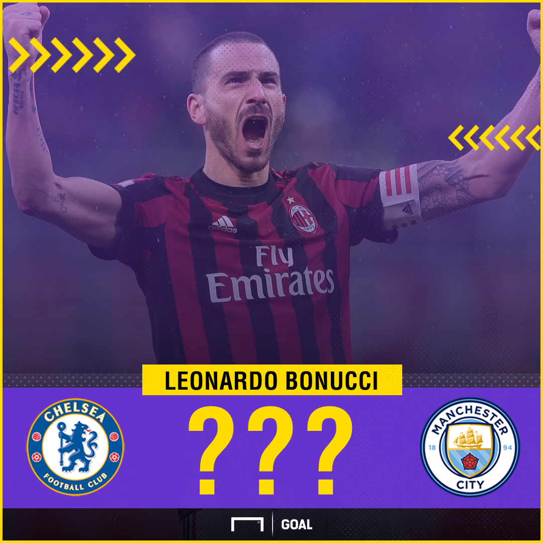 Leonardo Bonucci Chelsea Manchester City