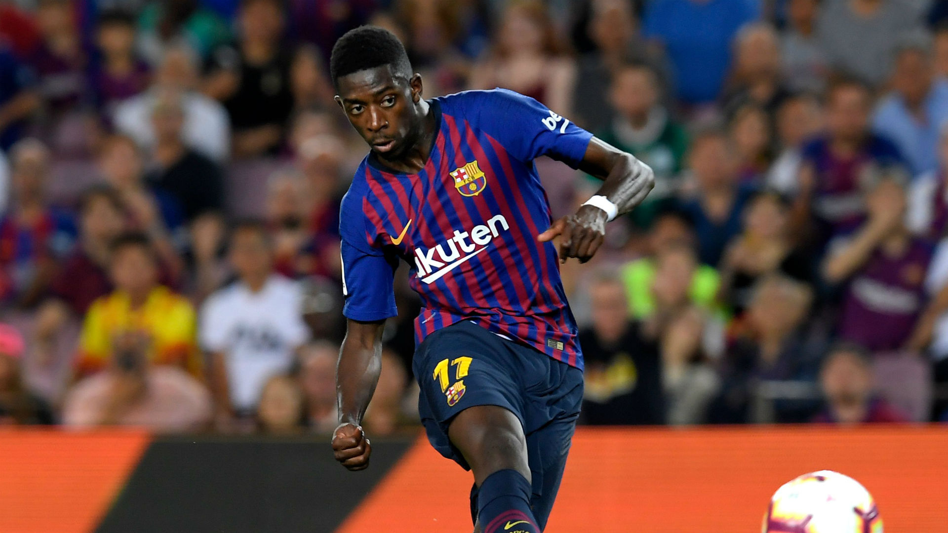 Ousmane Dembele Barcelona La Liga 2019