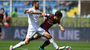 Milan Badelj Pepito Rossi Genoa Fiorentina Serie A