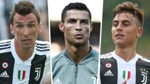 Mandzukic Ronaldo Dybala PS