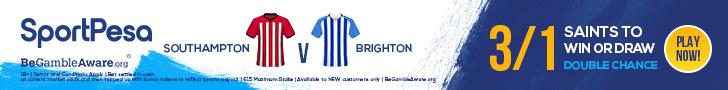 Southampton v Brighton SportPesa offer