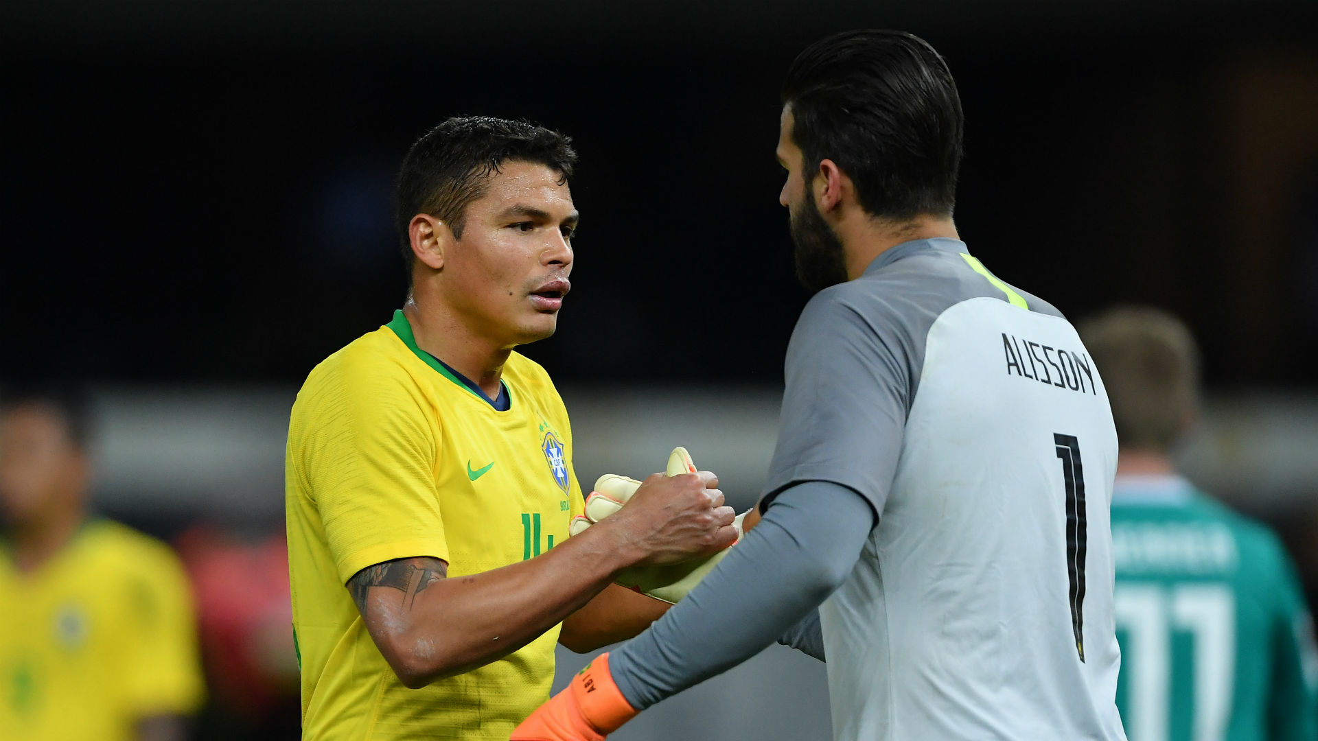 Thiago Silva Alisson Brazil Germany