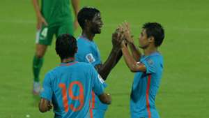 Rowllin Borges Eugeneson Lyngdoh India Macau 2019 AFC Asian Cup qualifiers