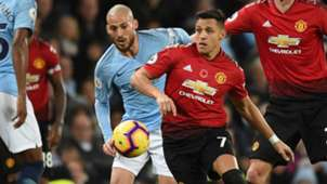 111118 Alexis Sánchez David Silva Manchester United Manchester City