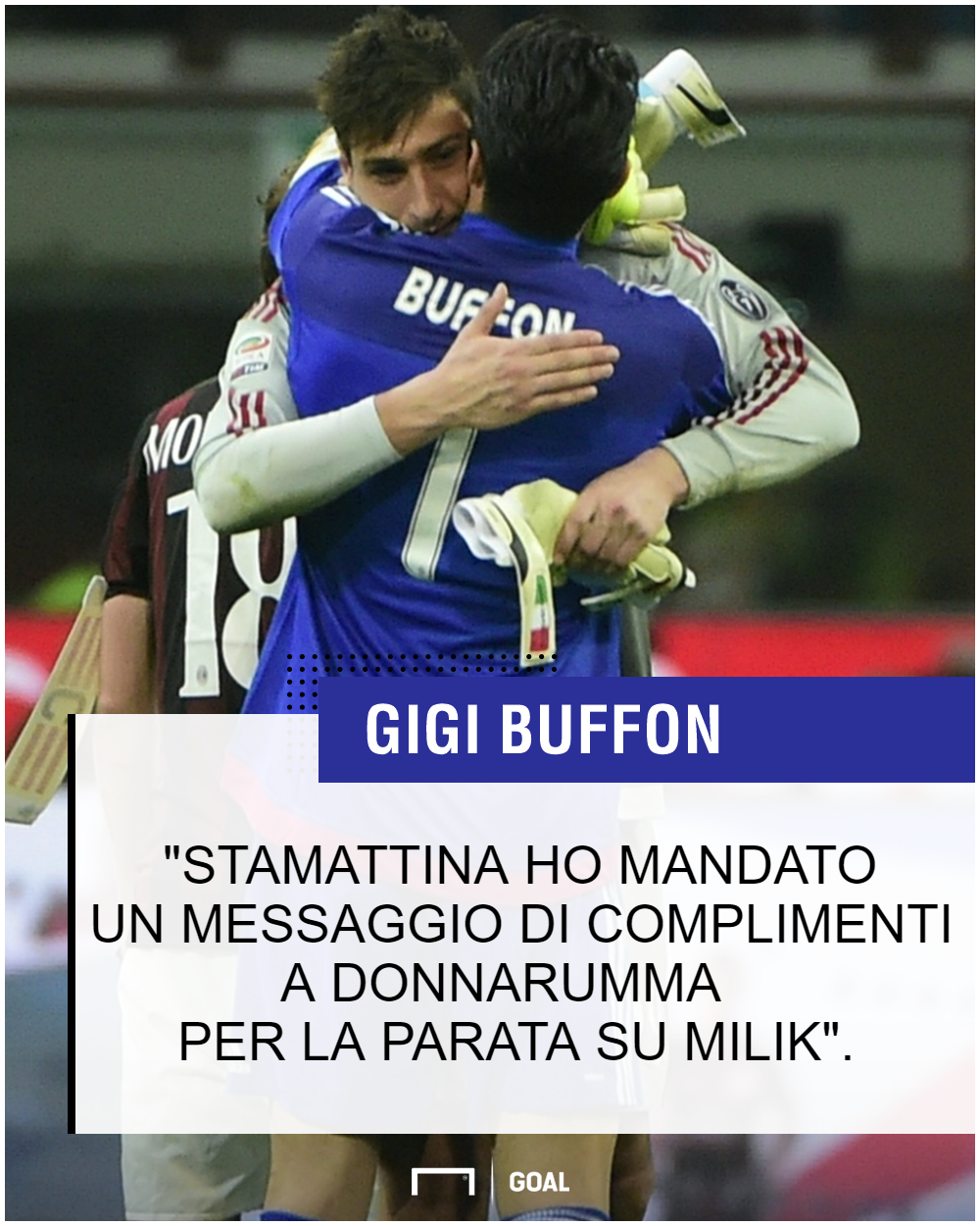 PS Buffon Donnarumma