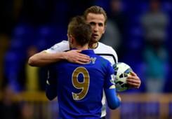 Harry Kane, Tottenham, Jamie Vardy, Leicester