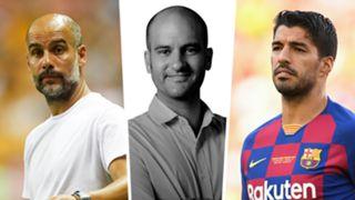 Pep Guardiola Pere Guardiola Luis Suarez GFX