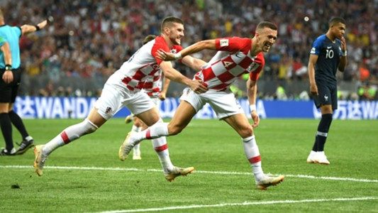 Ivan Perisic France Croatia World Cup Final 15072018