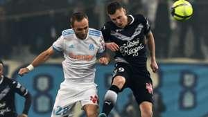 Lukas Lerager Valere Germain Marseille Bordeaux Ligue 1 18022018