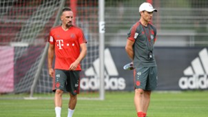 Niko Kovac Franck Ribery Bayern München 04072018