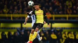 Pierre-Emerick Aubameyang Borussia Dortmund Tottenham Hotspur Champions League 211120147