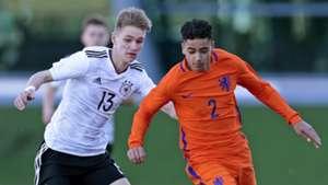 Marco John, Germany U16, Ki-Jana Hoever, Netherlands U16